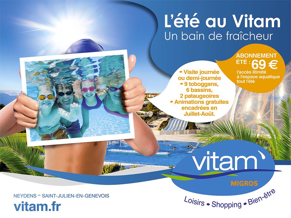 Vitam Parc Abonnement promotion online du vitam, un projet réalisé par l'agence félix pour